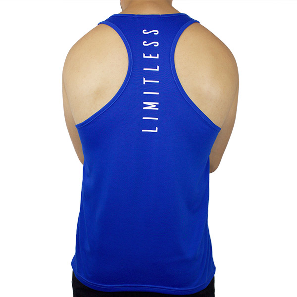Stringer Tank Blue Back